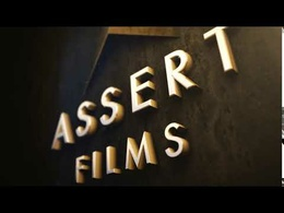 Create an animated cinematic 3D logo intro
