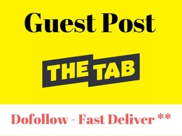 Guest Post on Thetab.com - Thetab Traffic 600k Da 73 Uk Website