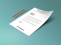 Design A Professional Double Sided Business Card and Letterhead