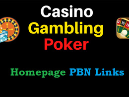 PROVIDE GAMBLING POKER CASINO PBN BACKLINKS