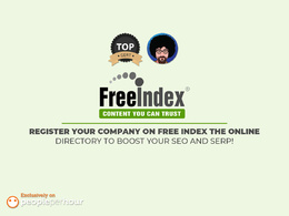 Register your company on Free Index the online directory