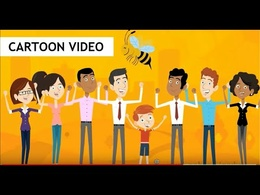 Create a cartoon style animated explainer video