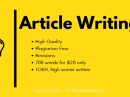 700 word article on any topic ; SAMPLE : http://bit.ly/2lPV3yo