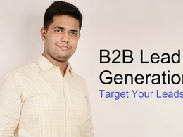 Do b2b lead generation for your 100 targeted leads