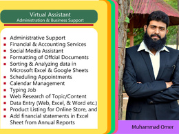 Be the Best Virtual Assistant - Admin & Business for 1 hour