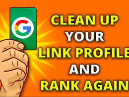 Disavow spammy or toxic backlinks to your website