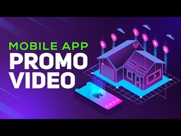 Produce a 1 min Stunning Mobile App Demo Video with a Voice over