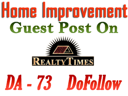 Write and submit post on Real Estate blog realtytimes.com