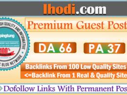 Write & Publish A Crypto Guest Post on Ihodl.com - DA 66, DR 60