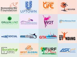 Create a Professional Custom Logo ( 6 initial concept )
