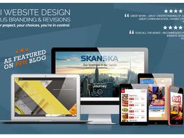 UI Design + Branding & Revisions