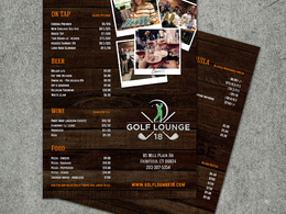 Design your Tasty Restaurant/Café/Bar Menu