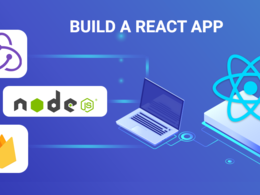 Develop reactjs one page web application