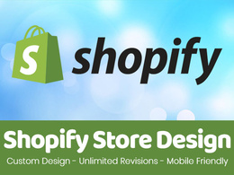 Design a complete shopify store
