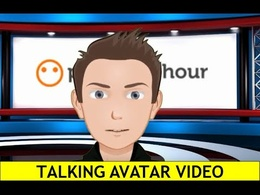 Create a talking video from your caricature or avatar image