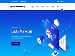Create digital marketing website