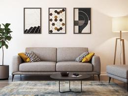 Create a 3d visualization of interior