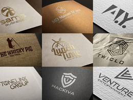World Class Logo With Unlimited Concept & Revision [50% OFF]