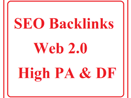 Do 10 Backlinks 2.0 Web High PA and Do Follow Backlinks