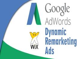 Setup Wix Google Adwords Dynamic Remarketing