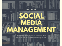 Create content and manage your Social Media for a month !
