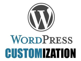 Fix the bugs and provide one hour customization in WordPress