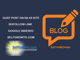 Publish guest post on DA 63 site with Dofollow link