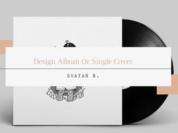 Design creative Album Or Single Cover