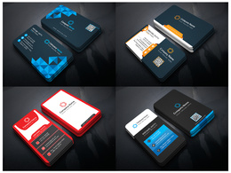 Professional Business Card Design with Unlimited Revisions