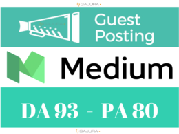 Make A Live Guest Post On Medium, Medium.com DA95