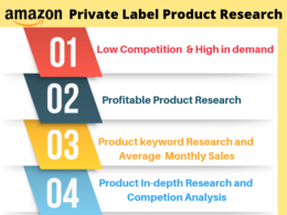 Do research for amazon fba private label product
