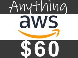 Help you in anything AWS