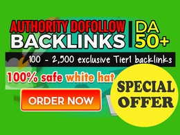 Boost your rankings with tier1 dofollow SEO backlinks