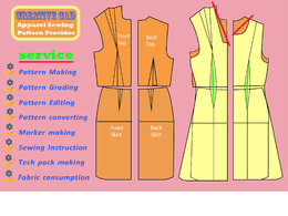 Make sewing pattern