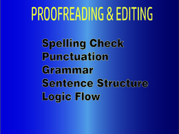 Proofread any document of your work-2000 Words in 1 Day