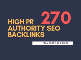 Do high pr authority SEO backlinks,link building