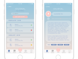 Design an mobile ui interface