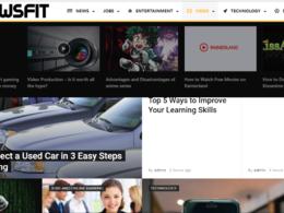 Dofollow News Guest Post on Mynewsfit (Mynewsfit.com) - DA 52