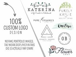 Design a hand-drawn MININMAL vector logo