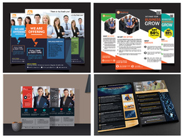 Design an outstanding double sided flyer within 48 hours