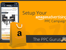 Setup Agency Level Amazon Ad Campaign (PPC)  - Sponsored Ads