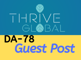 Permanent guest post on thrive global da78