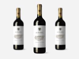 Design a professional wine label