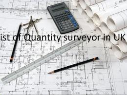 Provide latest list of 9K+ Quantity Surveyors in UK