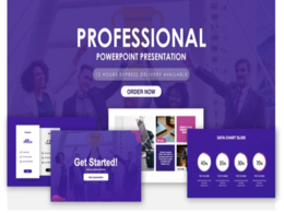 Design custom powerpoint template for branding upto 20 pages