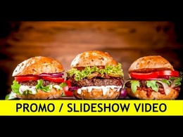 Create a  promo video or slideshow from your photos & captions
