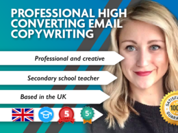 Write Professional High Converting Email Copywriting