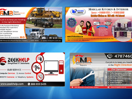 Design creative  banner for your business with in 24 hour