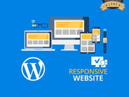 5-Page responsive website design & development in WordPress CMS