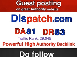 Guest post on Dispatch -Dispatch.com -DA 81 Top US News Site